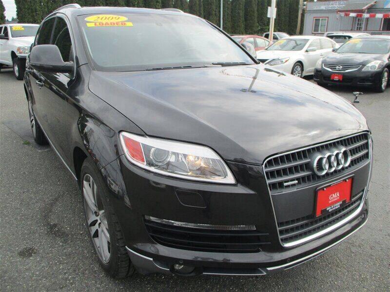 2009 Audi Q7 for sale at GMA Of Everett in Everett WA