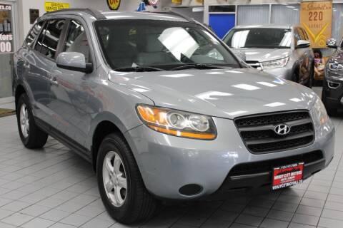 2008 Hyundai Santa Fe for sale at Windy City Motors in Chicago IL