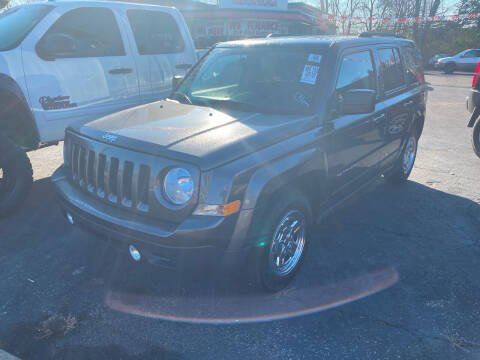 2016 Jeep Patriot for sale at Right Place Auto Sales in Indianapolis IN