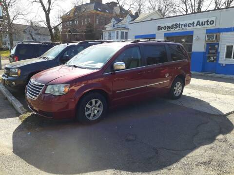 2010 Chrysler Town and Country for sale at Broad Street Auto in Meriden CT
