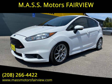 2015 Ford Fiesta for sale at M.A.S.S. Motors - Fairview in Boise ID