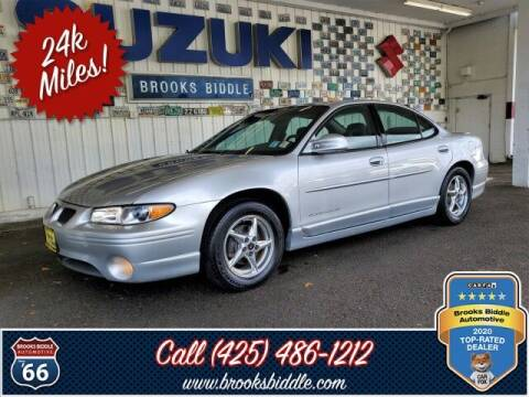 2003 Pontiac Grand Prix for sale at BROOKS BIDDLE AUTOMOTIVE in Bothell WA