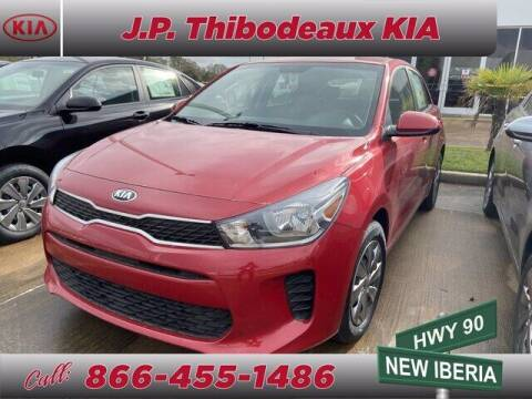 2020 Kia Rio 5-Door for sale at J P Thibodeaux Used Cars in New Iberia LA