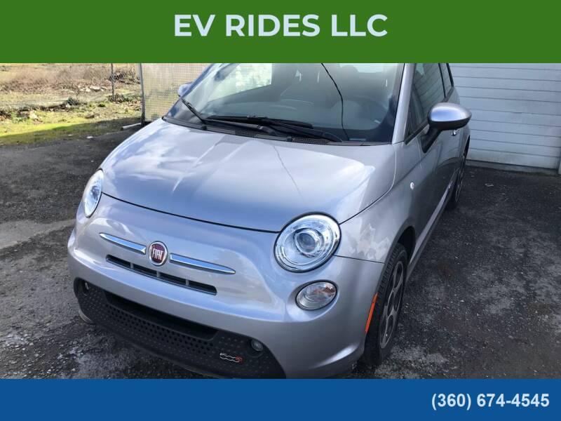2017 FIAT 500e for sale at EV RIDES LLC in Portland OR