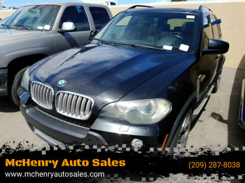 2009 BMW X5 for sale at McHenry Auto Sales in Modesto CA