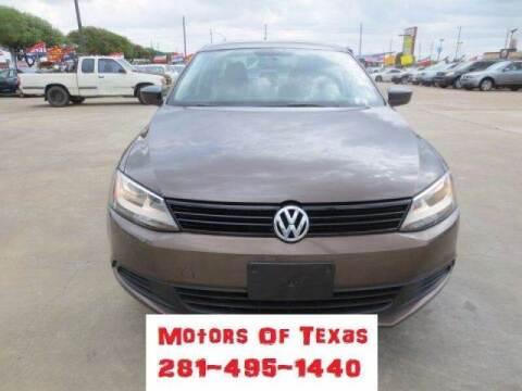 2014 Volkswagen Jetta for sale at MOTORS OF TEXAS in Houston TX