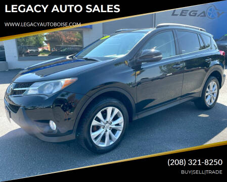 2013 Toyota RAV4 for sale at LEGACY AUTO SALES in Boise ID