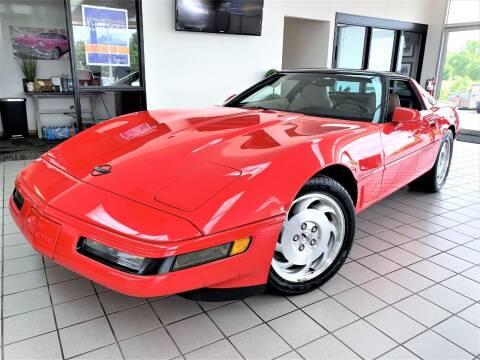 1995 Chevrolet Corvette for sale at SAINT CHARLES MOTORCARS in Saint Charles IL