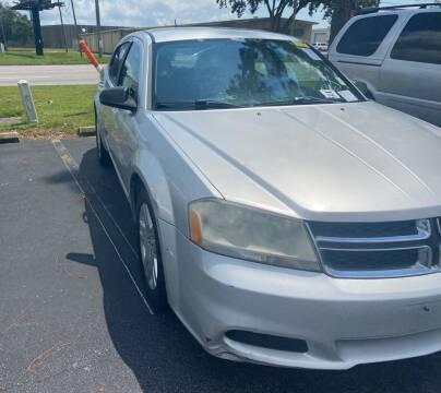 2012 Dodge Avenger for sale at Nash's Auto Sales Used Car Dealer in Milton FL