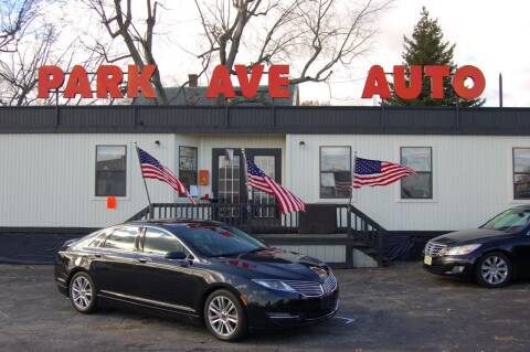 2013 Lincoln MKZ for sale at Park Ave Auto Inc. in Worcester MA