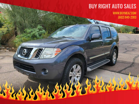 2011 Nissan Pathfinder for sale at BUY RIGHT AUTO SALES 2 in Phoenix AZ