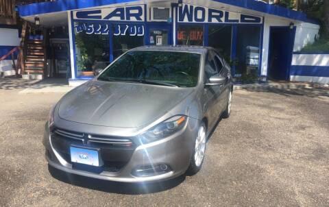 2013 Dodge Dart for sale at Car World Inc in Arlington VA