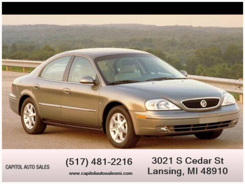 2003 Mercury Sable for sale at Capitol Auto Sales in Lansing MI