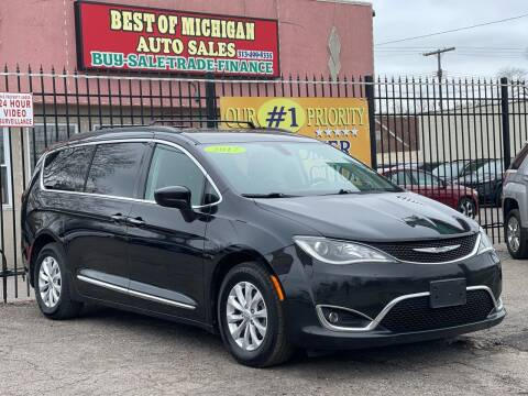2017 Chrysler Pacifica for sale at Best of Michigan Auto Sales in Detroit MI