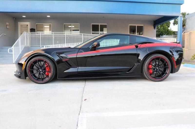 2019 Chevrolet Corvette for sale at PERFORMANCE AUTO WHOLESALERS in Miami FL