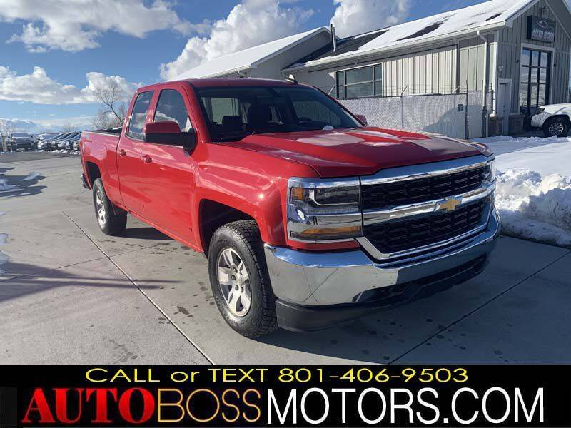 2019 Chevrolet Silverado 1500 LD for sale at Auto Boss in Woodscross UT