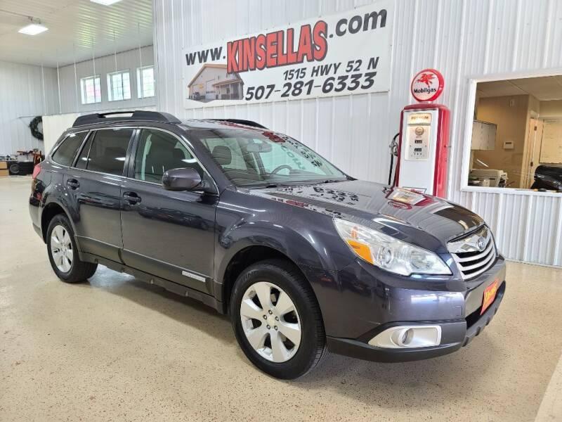2011 Subaru Outback for sale at Kinsellas Auto Sales in Rochester MN