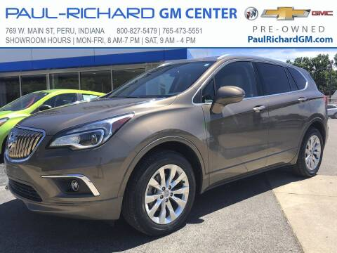 2017 Buick Envision for sale at Paul-RICHARD Gm Ctr in Peru IN