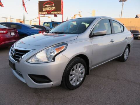 2016 Nissan Versa for sale at Moving Rides in El Paso TX