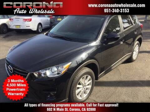 2016 Mazda CX-5 for sale at Corona Auto Wholesale in Corona CA