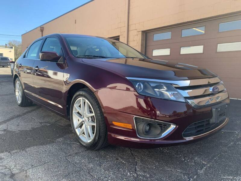 2011 Ford Fusion for sale at Martys Auto Sales in Decatur IL