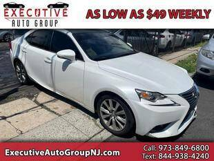 2015 Lexus IS 250 for sale at Executive Auto Group in Irvington NJ