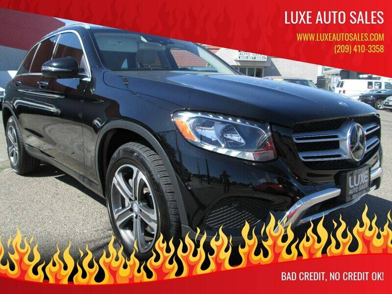 2016 Mercedes-Benz GLC for sale at Luxe Auto Sales in Modesto CA
