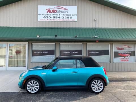 2018 MINI Convertible for sale at AutoSmart in Oswego IL