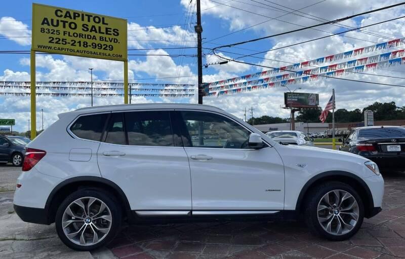 2015 BMW X3 for sale at CAPITOL AUTO SALES LLC in Baton Rouge LA