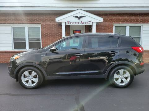 2011 Kia Sportage for sale at UPSTATE AUTO INC in Germantown NY