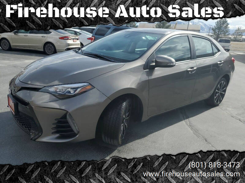 2019 Toyota Corolla for sale at Firehouse Auto Sales in Springville UT