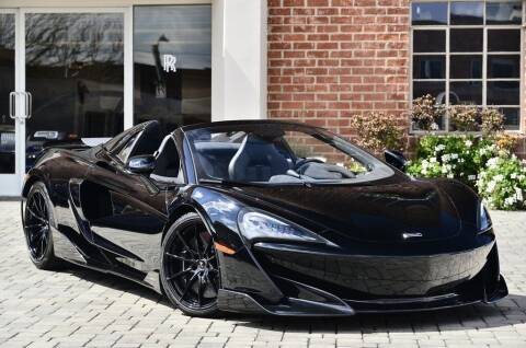2020 McLaren 600LT Spider for sale at O'Gara Coach McLaren Beverly Hills in Beverly Hills CA