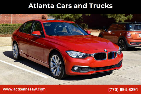 2016 BMW 3 Series for sale at Atlanta Cars and Trucks in Kennesaw GA