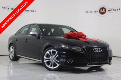 2011 Audi S4 for sale at INDY'S UNLIMITED MOTORS - UNLIMITED MOTORS in Westfield IN
