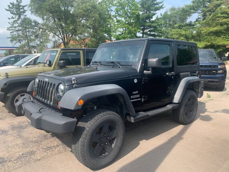 2012 Jeep Wrangler for sale at Leonard Enterprise Used Cars in Orion Township MI