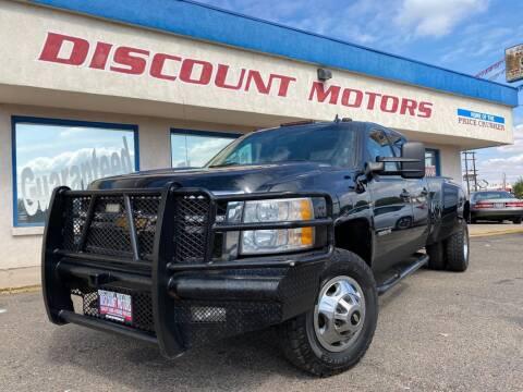 2014 Chevrolet Silverado 3500HD for sale at Discount Motors in Pueblo CO
