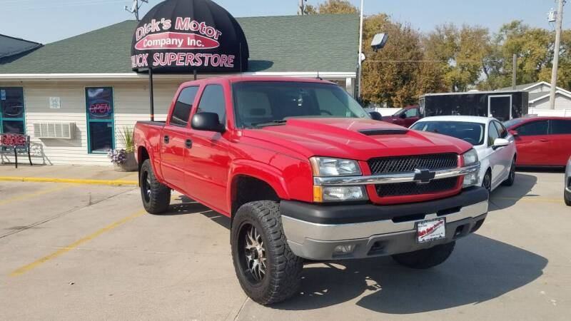 2004 Chevrolet Silverado 1500 for sale at DICK'S MOTOR CO INC in Grand Island NE