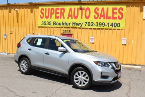 2017 Nissan Rogue for sale at Super Auto Sales in Las Vegas NV