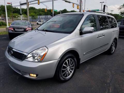2012 Kia Sedona for sale at Cedar Auto Group LLC in Akron OH
