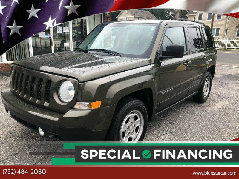 2015 Jeep Patriot for sale at Blue Star Cars in Jamesburg NJ