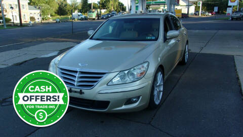 2010 Hyundai Genesis for sale at FERINO BROS AUTO SALES in Wrightstown PA
