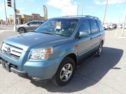 2006 Honda Pilot for sale at AUGE'S SALES AND SERVICE in Belen NM