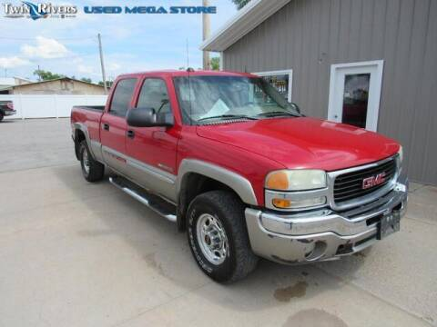 2004 GMC Sierra 2500 for sale at TWIN RIVERS CHRYSLER JEEP DODGE RAM in Beatrice NE