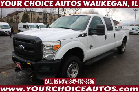 2012 Ford F-250 Super Duty for sale at Your Choice Autos - Waukegan in Waukegan IL