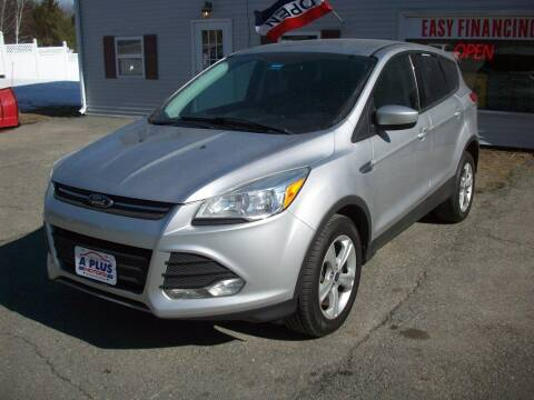2014 Ford Escape for sale at A-Plus Motors in Alton ME