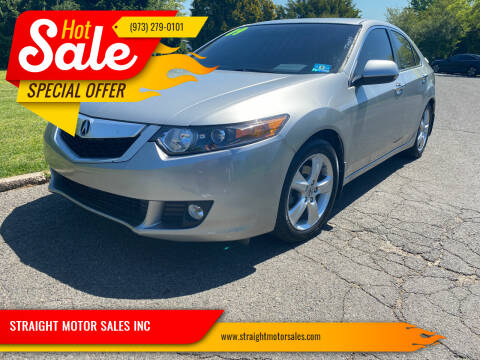 2009 Acura TSX for sale at STRAIGHT MOTOR SALES INC in Paterson NJ