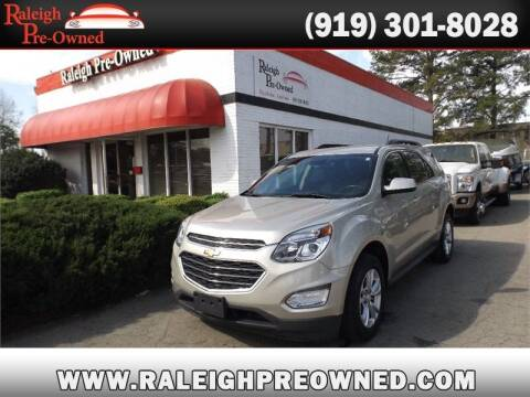 2016 Chevrolet Equinox for sale at Raleigh Pre-Owned in Raleigh NC