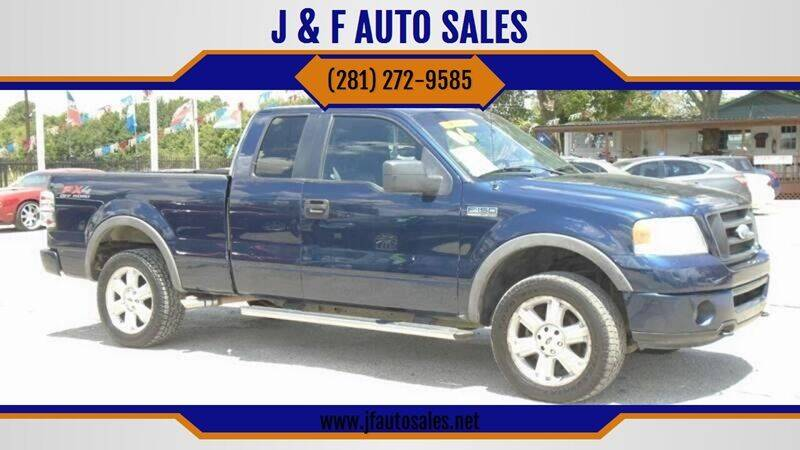 2006 Ford F-150 for sale at J & F AUTO SALES in Houston TX
