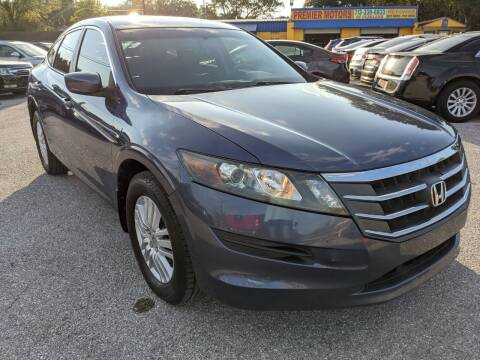 2012 Honda Crosstour for sale at PREMIER MOTORS OF PEARLAND in Pearland TX