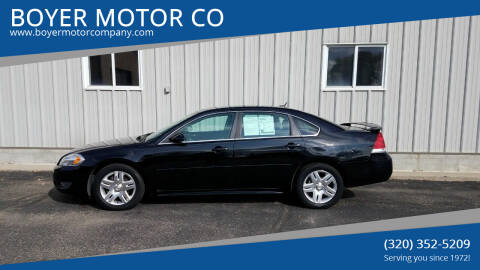 2011 Chevrolet Impala for sale at BOYER MOTOR CO in Sauk Centre MN